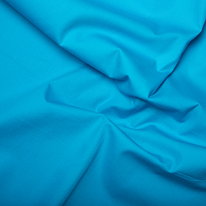 Peacock 100% Cotton Poplin Fabric