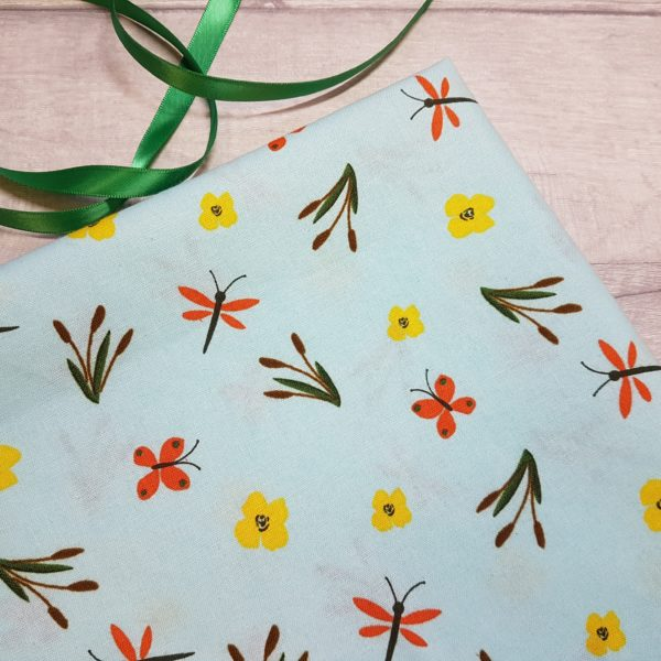 Dragonfly Meadow 100% Cotton Fabric