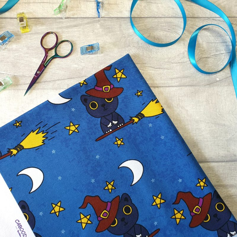 Witches Cat Caboodle Textiles Exclusive Jersey
